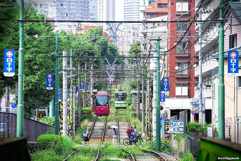 Rail crossing. Foto de Dacchaman