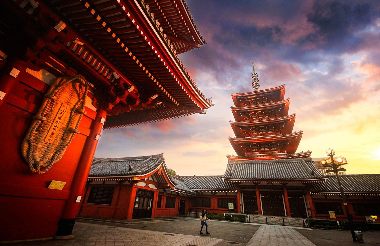 Sensoji-ji, Temple in Asakusa. Foto de farizun amrod