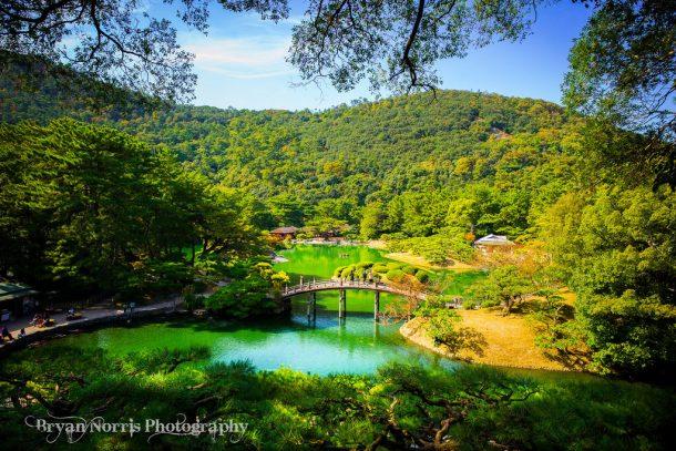 Takamatsu Ritsurin Garden. Foto de Bryan