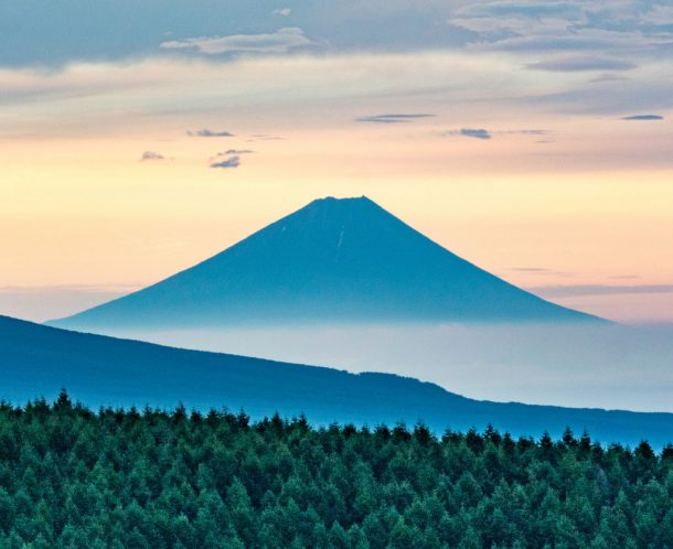 Fuji distant view from Kirigamine. Foto de Shinichiro Saka
