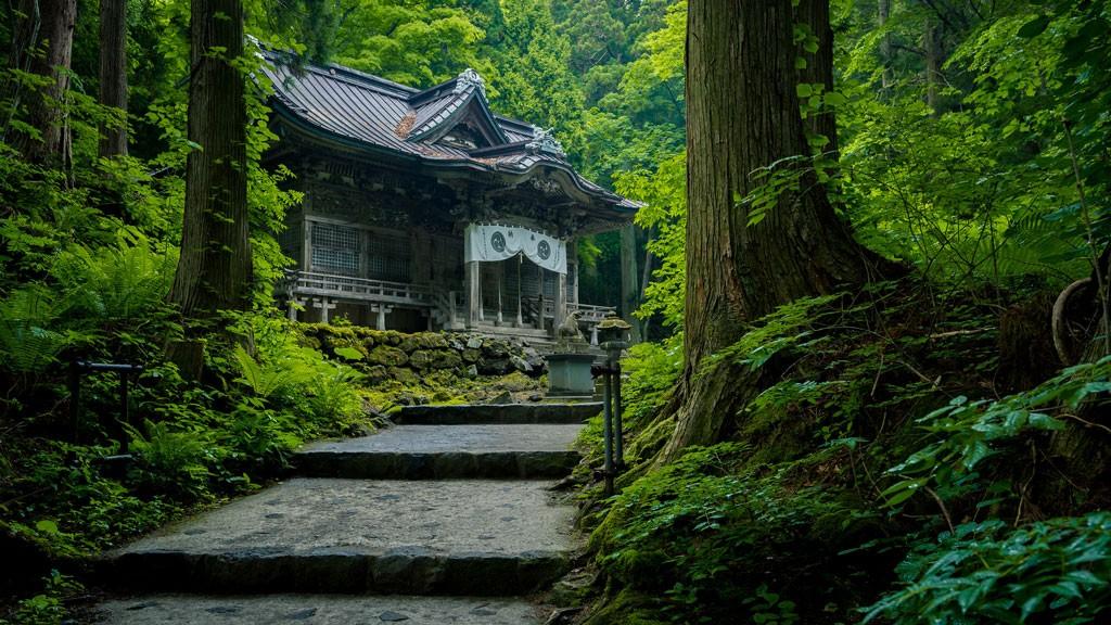 Towada Shrine. Foto de Tak wing Tong