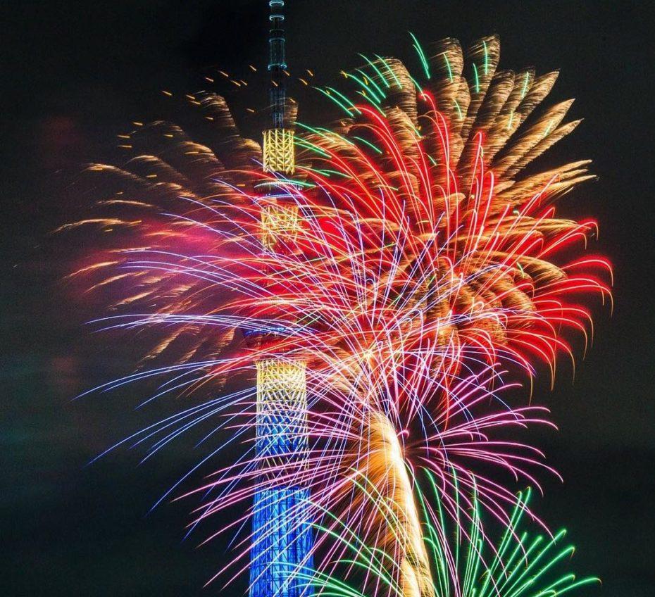 Sumida Fireworks Foto de Ling Jin