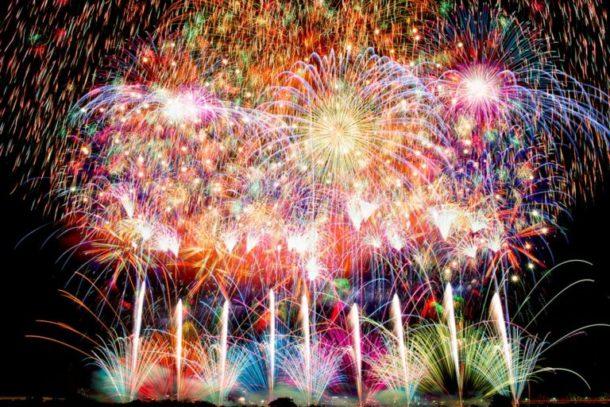Kanagawa Shimbun Firework